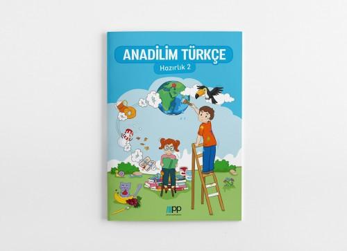 Anadilim Türkçe Hazırlık 2 kıtabı çeşitli oyun ve etkinliklerle gündelik kullanılan Türkçe dilini çocuklara eğlenerek öğretmeyi ve sevdirmeyi amaçlamaktadır.