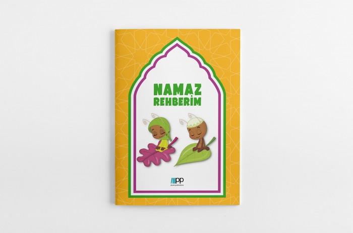 """""""Namaz Rehberim"""" kitapçığı namaz ve namazı ilgilendiren konularla ilgili olarak çocuklar için hazırlanmış bir rehberdir."""